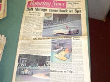 MOTORING NEWS 1973 May 10 - Mirage win Spa 1000, Pau F2, Tulip Rally, Prescott